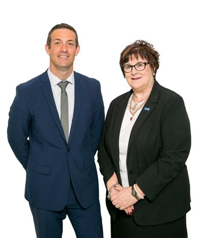 Chris Henry and Joan Latter